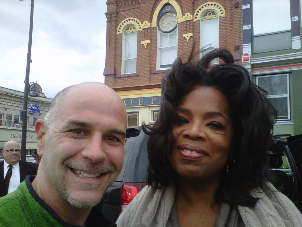 Reports of Oprah's visit to Fairfield, Iowa (3/3)