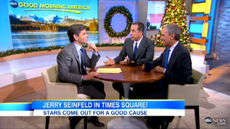 Jerry Seinfeld on GMA