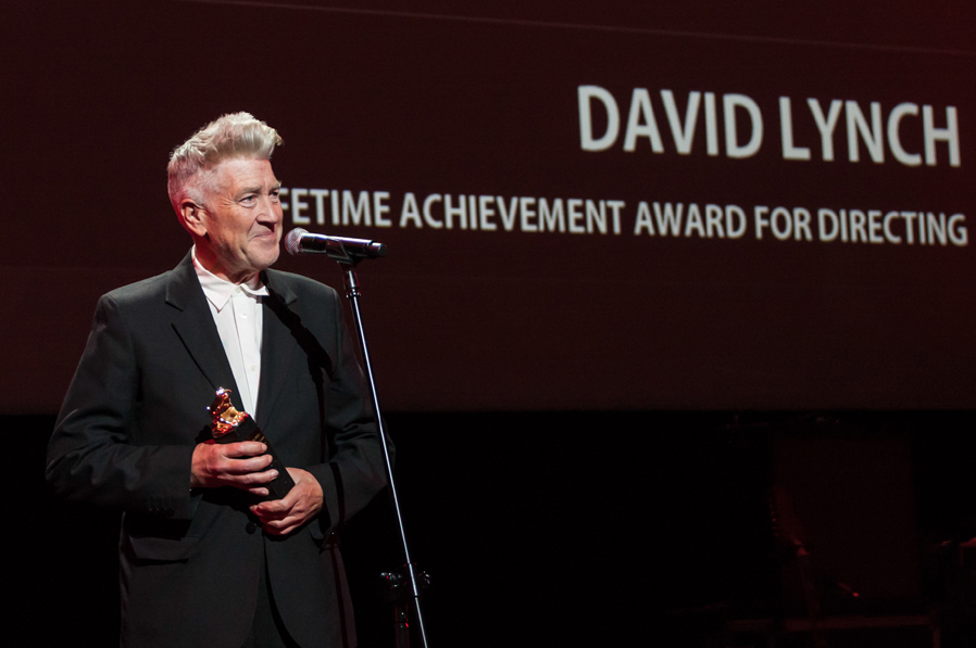 David Lynch receives Plus Camerimage Lifetime Achievement Award for Directing © Marta Pawłowska