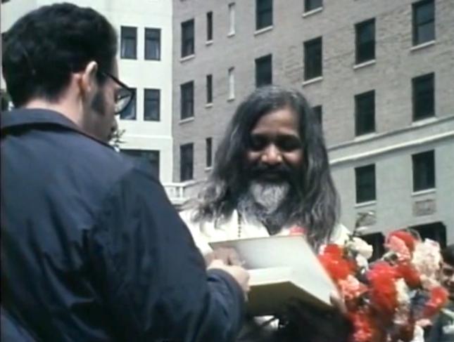 maharishi signs gita for ken