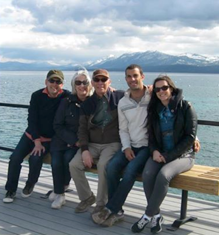 Family Foto at Lake Tahoe
