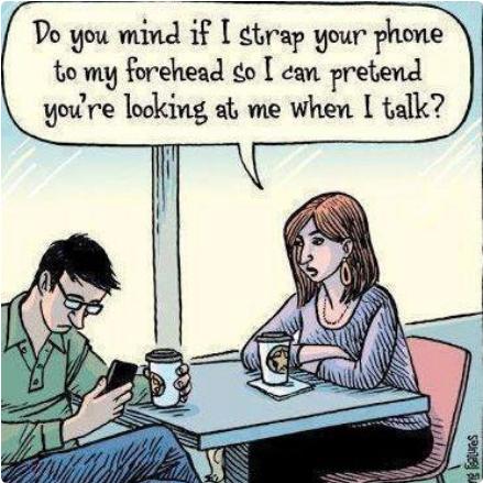 Do you mind? cartoon