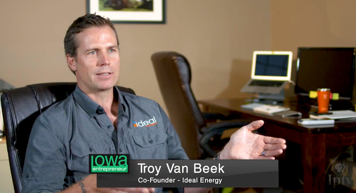 IPTV - Troy Van Beek, Co-Founder - Ideal Energy