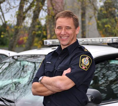 Police Chief Les Sylven
