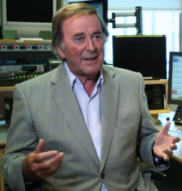 BBC radio broadcaster Terry Wogan