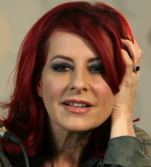 British vocal coach Carrie Grant