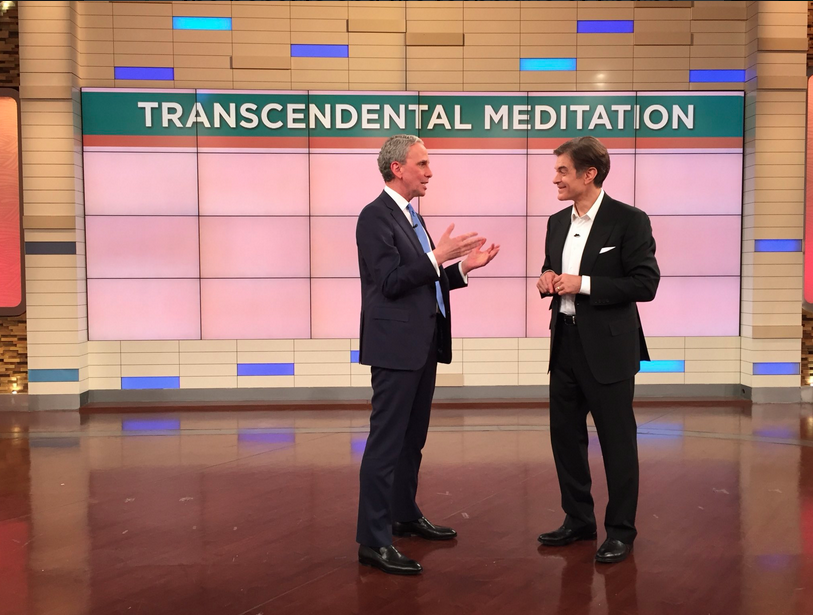 Bob Roth talks Transcendental Meditation with Dr. Oz.png