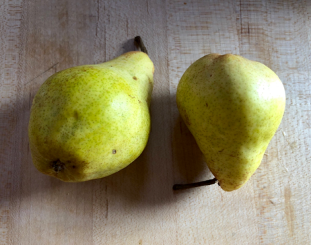2 Pears 4 Breakfast Haiku