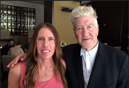 Marianne Schnall and David Lynch