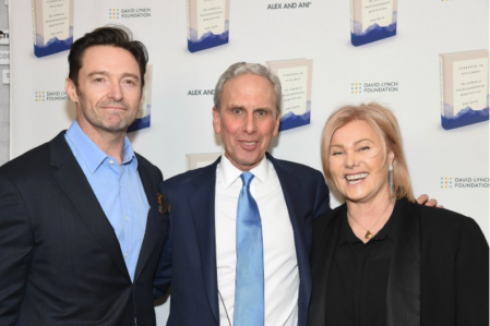 Bob Roth pictured with Hugh Jackman and Deborra-Lee Furness